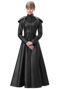 Game of Thrones Queen Cersei Black Gown Costume