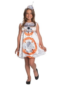 Star Wars BB-8 Girls Dress Costume