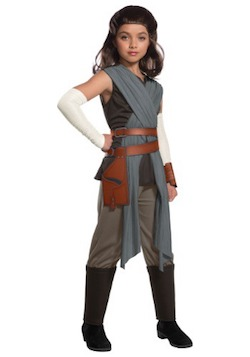 Star Wars The Last Jedi Kids Rey Costume
