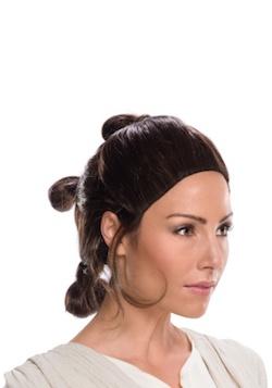 Star Wars Rey Costume Wig
