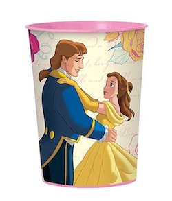 Beauty and the Beast party decorations balloons - cups
