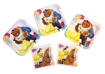 Beauty and the Beast party decorations balloons - party pack