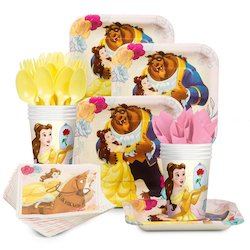 Beauty and the Beast party decorations balloons - party set