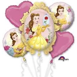 Beauty and the Beast party decorations balloons
