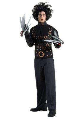 Celebrity Halloween Edward Scissorhands Lady Gaga Costume