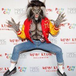 Celebrity Halloween Heidi Klum Costume Michael Jackson Wolf