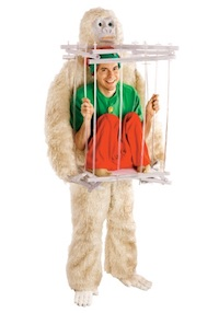 Christmas Adult Snowman Costume for Men and Women
