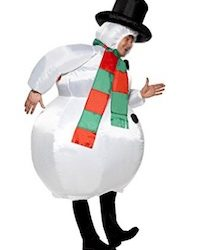 Christmas Adult Snowman Costume