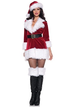 sexy Santa Claus costumes for adults