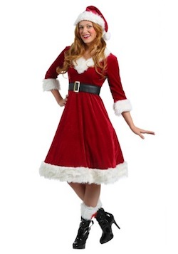Christmas Mrs. Santa Claus Costume for women