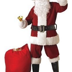 Christmas Mens Santa Claus Costume Ideas