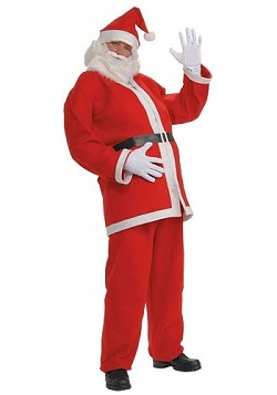 Christmas Adult Mens' Santa Claus Costume Ideas