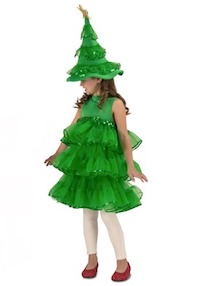 Christmas Season Christmas Tree Costume Adults and Kids