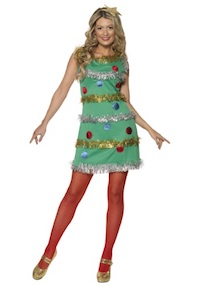 Christmas Season Christmas Tree Costume for Adults and Kids