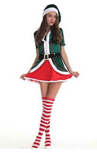 Christmas Sexy Elf Costume Ideas for Women