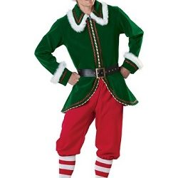 Christmas Adult Elf Costume Men and Women