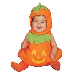 Halloween Cute Baby Pumpkin Costume - Dress up