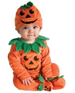 Halloween Cute Baby Pumpkin Costume - Baby Jumper