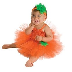 Halloween Cute Baby Pumpkin Costume Ideas