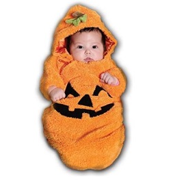 Halloween Cute Baby Pumpkin Costume - Bunting