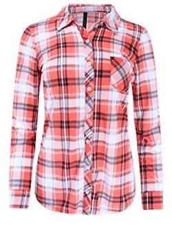 Netflix Stranger Things Barb Costume - plaid shirt