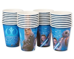 Star Wars The Last Jedi Party Supplies, Decorations, Balloons - cups