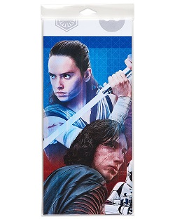 Star Wars The Last Jedi Party Supplies, Decorations, Balloons - table cover