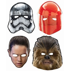 Star Wars The Last Jedi Party Supplies, Decorations, Balloons - masks