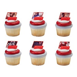 Star Wars The Last Jedi Party Supplies, Decorations, Balloons - cupcake topper