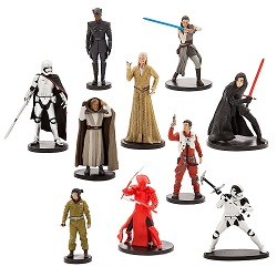 Star Wars The Last Jedi Party Supplies, Decorations, Balloons - figures