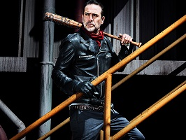 The Walking Dead Adult Negan Costume Bat