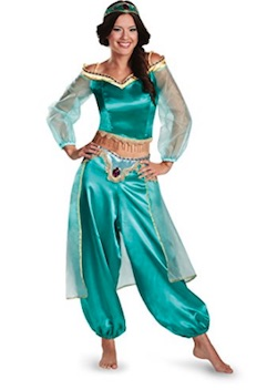 Celebrity Paris Hilton Costume - Sexy Princess Jasmine