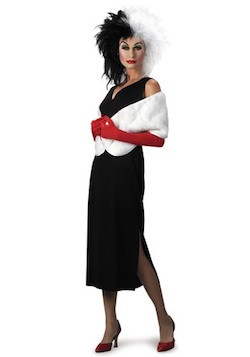Celebrity Halloween Cruella De Vil Lauren Conrad Costume