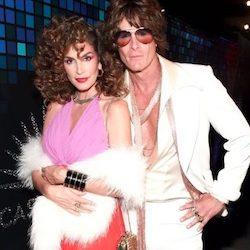 Celebrity Halloween Disco Cindy Crawford Costume