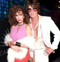 Celebrity Halloween Disco Cindy Crawford Costume