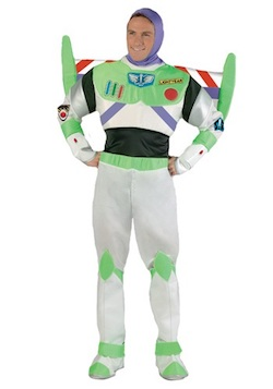 Celebrity Halloween Toy Story Justin Timberlake Costume - Buzz Lightyear