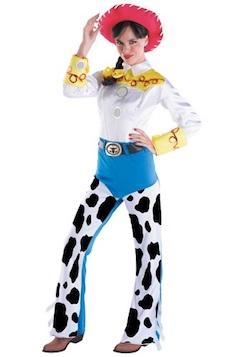 Celebrity Halloween Toy Story Justin Timberlake Costume - Jessica Biel