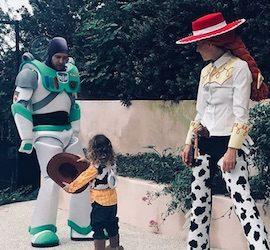 Celebrity Jessica Biel & Justin Timberlake Costume Toy Story