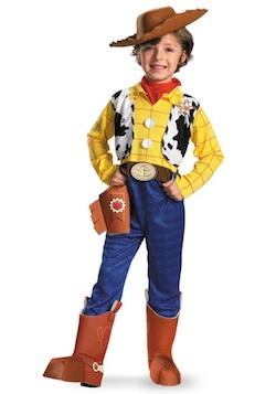 Celebrity Halloween Toy Story Justin Timberlake Costume - Woody