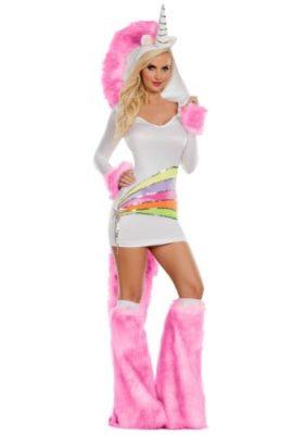 Celebrity Isla Fisher costume - unicorn rainbow