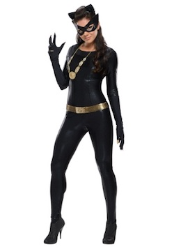 Celebrity Janet Jackson Catwoman costume for adults-premium