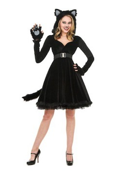 Celebrity Karlie Kloss Costume cat and mouse