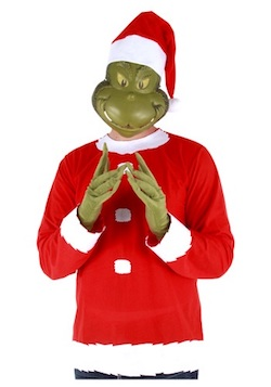 Christmas Grinch Costumes for Adults