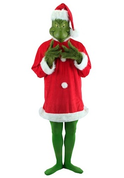 Christmas Grinch Costume for Adults