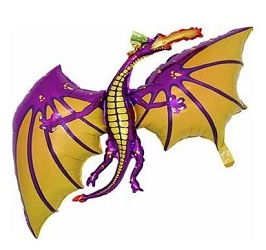Game of Thrones Mother of Dragons Dragon Balloons for GOT parties