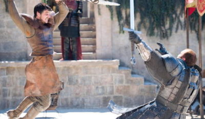 Game of Thrones Viper vs Mountain Fight Costume