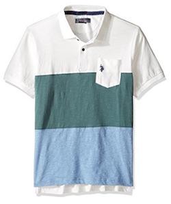 Netflix GLOW Producer Sam Costume for Men - blue striped shirt