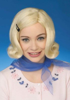 Netflix Stranger Things Eleven Costume for Kids - Blonde Wig