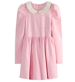 Netflix Stranger Things Eleven Costume for Kids - pink dress