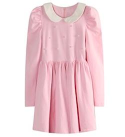 Netflix Stranger Things Eleven Costume for Kids - pink dress